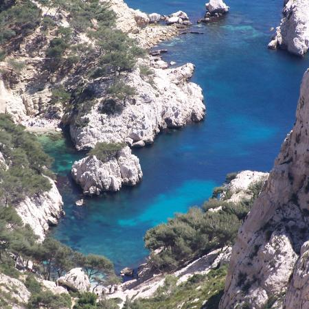 Calanque de Sugiton du Parc National des Calanques – Crédit photo : Lilita Vong